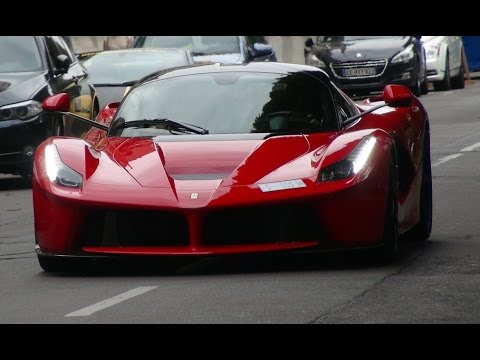 ferrari laferrari bugatti lor blanc driving youtube