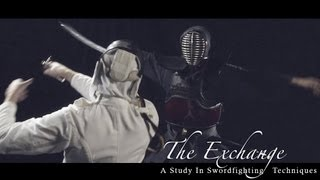 Samurai Vs. Fencing Sparring Swordfight. The Exchange- Smashbox Studios