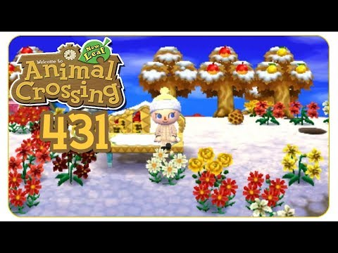 Der erste Schnee! #431 Animal Crossing: New Leaf - welcome amiibo - Let's Play
