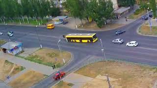 ДТП авария г Волжский пр Ленина ул Академика Королева 20 08 2017 14 49