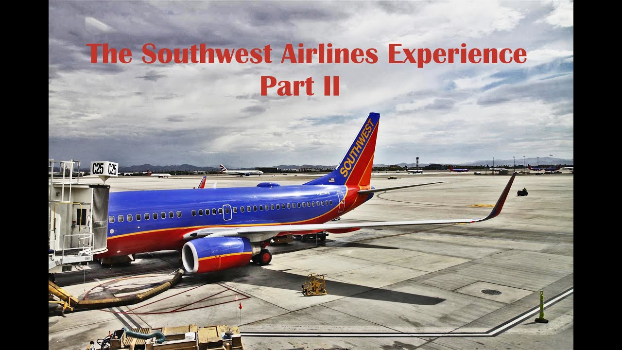 Southwest Airlines 737-500 Experience!!