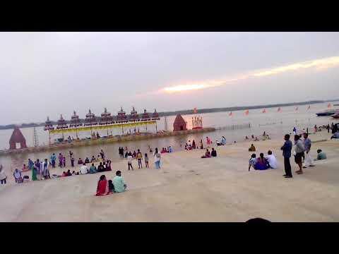 Pavitra Sangamam Ghat In Vijayawada | Beautifull Developments By AP CRDA At Pavitra Sangamam Ghat