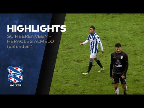 Highlights sc Heerenveen - Heracles Almelo (oefenwedstrijd)