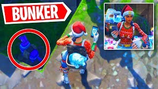 I OPENED the SECRET BUNKER In Fortnite Season 7 and FOUND...