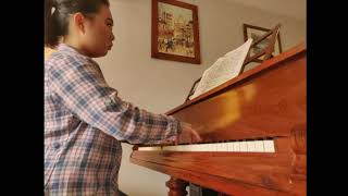 Book 1 - Prelude and Fugue in B major: Angela Shan (BMus 4)