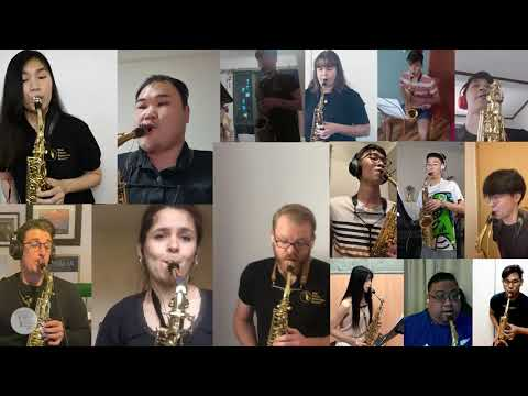 Heal the World - by the people from the Asia Pacific Saxophone Academy