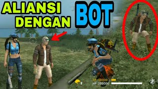 KETEMU PLAYER ANEH TAPI NYATA.!!! FREE FIRE BATTLEGROUND