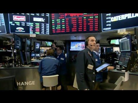 Stocks slump after U.S. proposes new tariffs on China