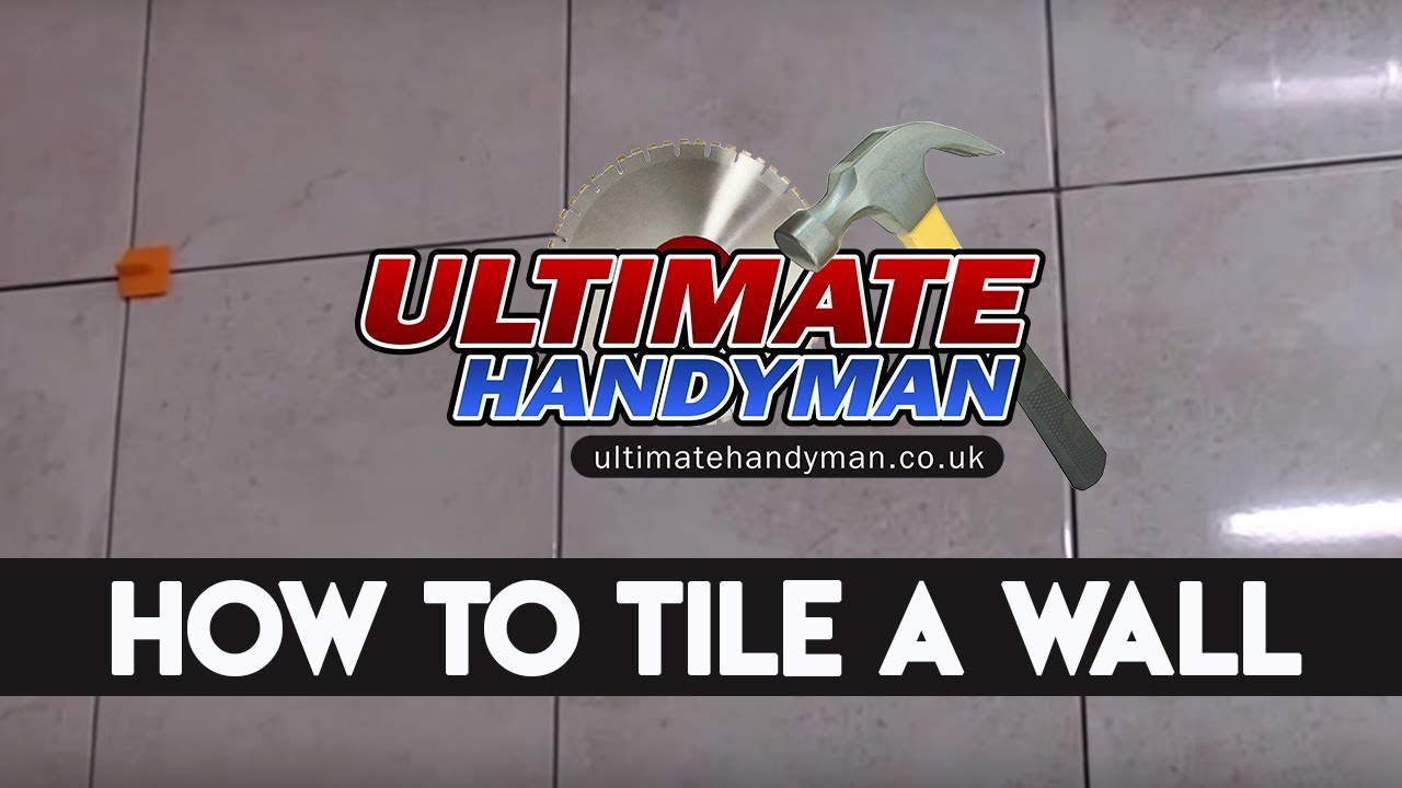 How to tile | Wall tiling - YouTube