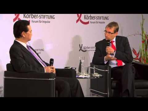 S.E. Nguyen Tan Dung, Premierminister der Sozialistischen Republik Vietnam, hält Rede in Berlin