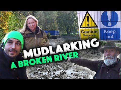 MUDLARKING A Broken River + Clean Up Special!