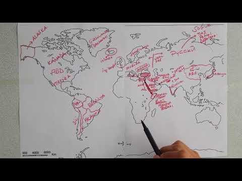 Dünya Haritası Tanıtımı -2(yarım Kalmıştı Devamı )