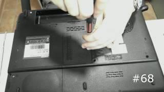 Полная разборка ноутбука Toshiba L300. Техобслуживание, замена элементов, ремонт Toshiba L300(, 2016-09-04T08:39:44.000Z)