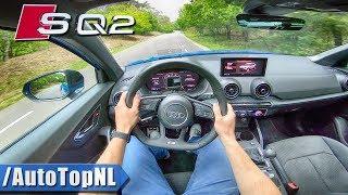 NEW!  AUDI SQ2 2.0 TFSI Quattro 300hp POV Test Drive by AutoTopNL