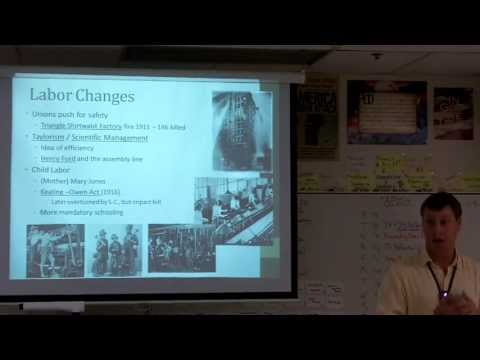 APUSH 7.1 Progressive Era Changes