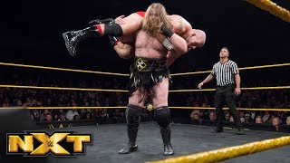 Killian Dain vs. Lars Sullivan: WWE NXT, April 4, 2018