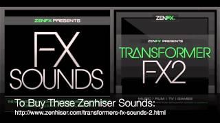 Transformer FX 2 - 630 New Transformers Sound FX & Robotic FX Out Now!