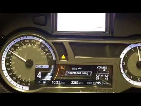 BMW K1600B on the dyno!