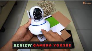 ✅ Review camera an ninh thông minh, giá rẻ YOOSEE