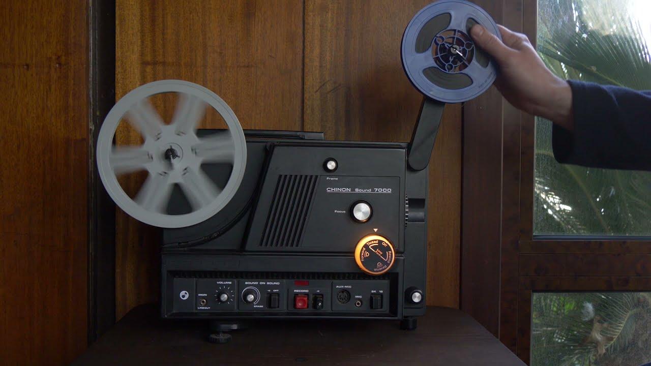 Super 8 Projector Chinon 7800