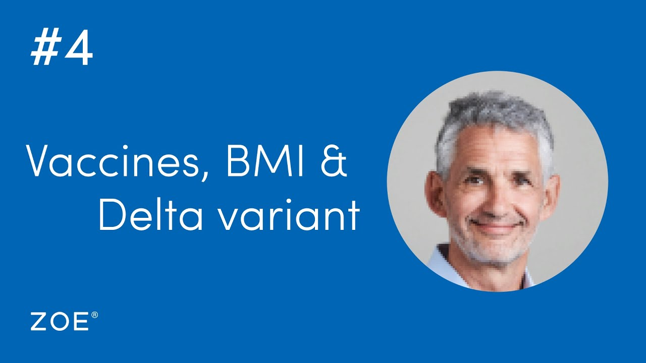 COVID QT #4: How does your vaccine and your BMI affect your risk of the Delta COVID Variant?