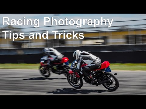 Racing photography tips