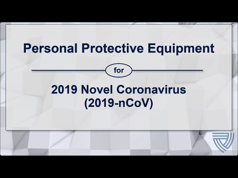 THIS VIDEO IS EXPIRED, THE UPDATED VIDEO LINK CAN BE FOUND BELOW: (NETEC: PPE For COVID-19)
