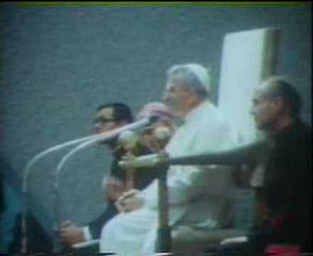 Papa Luciani recita Trilussa - 1978