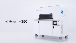 Introducing The Stratasys H350 3D printer.