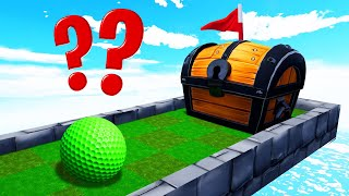 This Hole Is LOCKED In A CHEST?! (Golf It Troll Map)