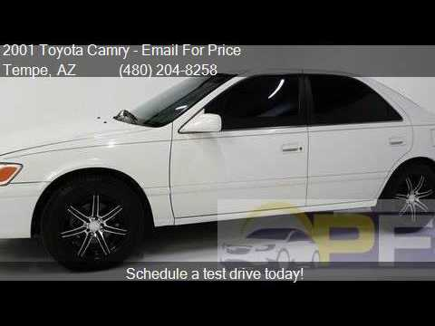 2001 Toyota Camry  for sale in Tempe, AZ 85281 at Bad Credit