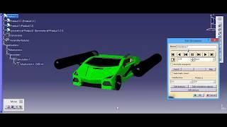 simulation 2 amphibious robot