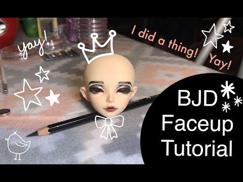 BJD Faceup Tutorial - Fairyland Minifee Ria Commission