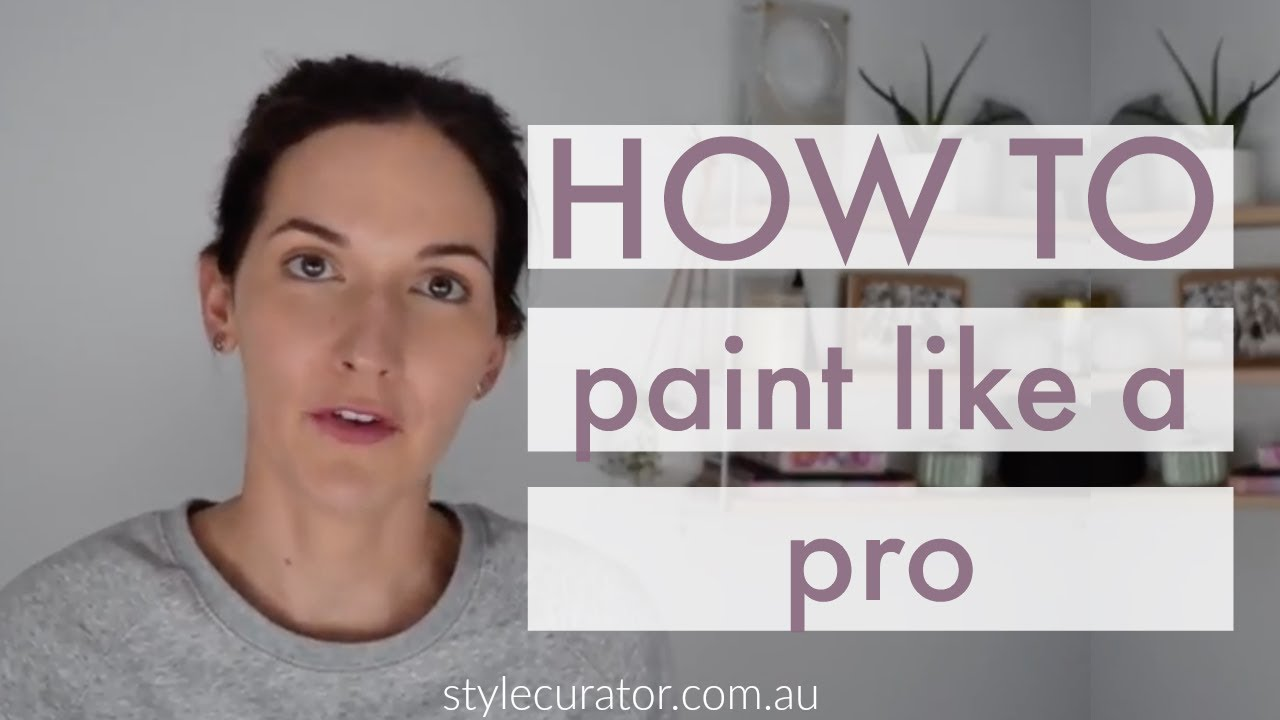How To Paint Walls Like A Professional