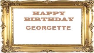 Georgette   Birthday Postcards & Postales - Happy Birthday