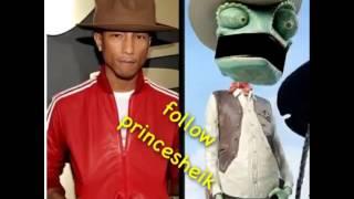Big ass hat Pharrell Williams