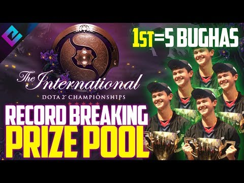 Dota 2 TI9 Breaks Esports Prize Pool Record = 5 Fortnite Bughas