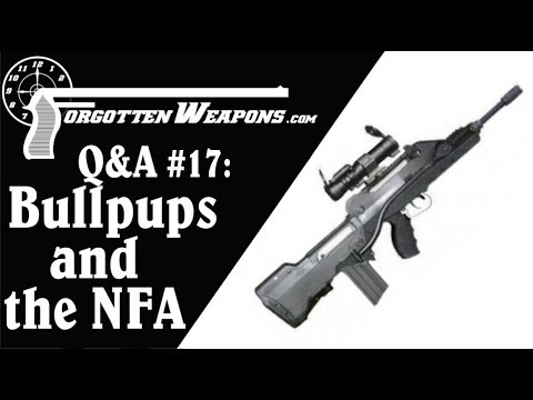 Q&A #17: Bullpups, Stocked Pistols, Delayed Blowback, and More!