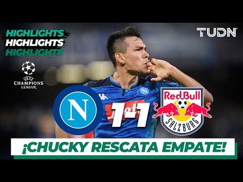 Highlights   Napoli 1 – 1 Red Bull Salz   Champions League – J4 – Grupo E   Tudn