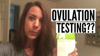 OVULATION TESTING??
