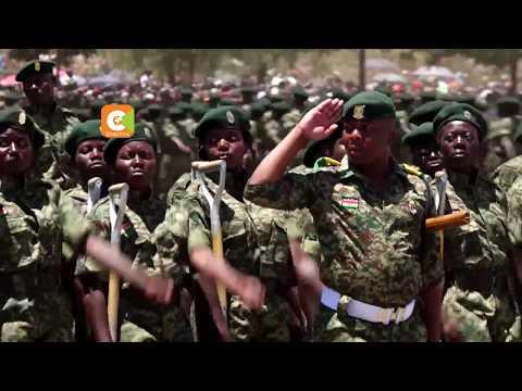 Kenyatta demands details on NYS graduates absorbed in KDF, police