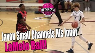 Javon Small Channels His Inner LaMelo Ball! PULLS UP FROM HALF COURT!?