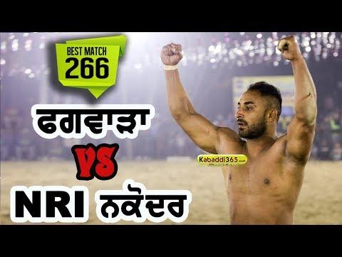 NRI Nakodar Vs Phagwara Best Match Shari Kabaddi Cup 2017
