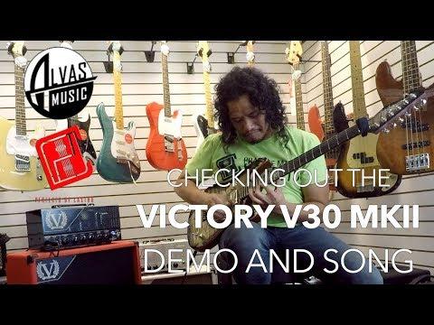 Victory V30 MkII Guitar Amplifier | Demo Song and Tweaking | Alvas Music San Pedro