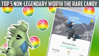 5 Non-Legendary Pokemon Worth The Rare Candy In Pokemon Go!