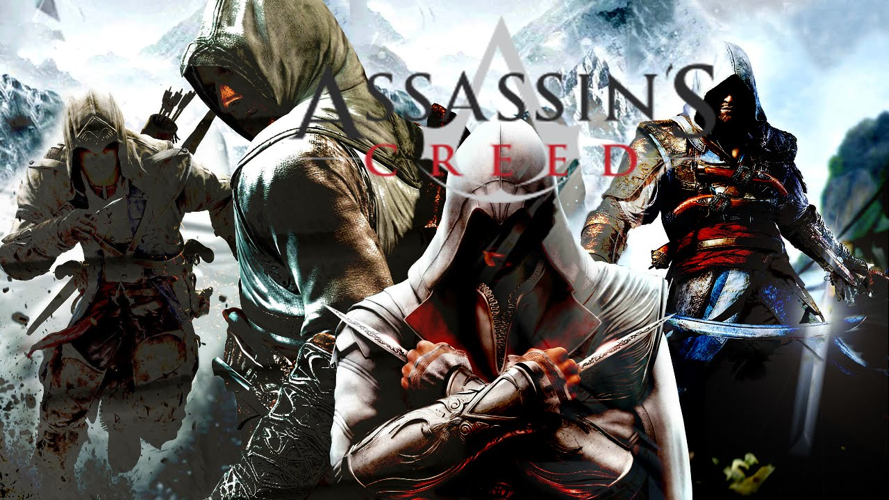 History Of Assassin S Creed Series 2007 2016 With Notable Spin