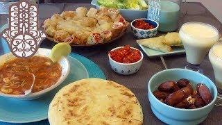 Menu simple et rapide - ftour du ramadan