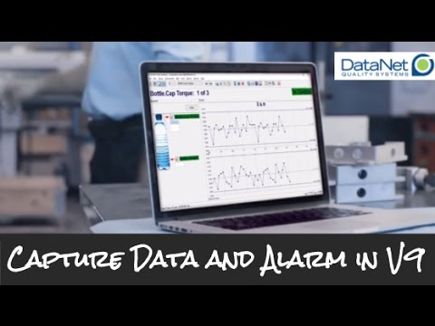 Capturing Data And Generating Alarms