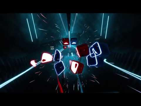 Custom Beat Saber song: Naruto Shippuuden OP 16 Silhouette (Raon Lee cover) - perfect run