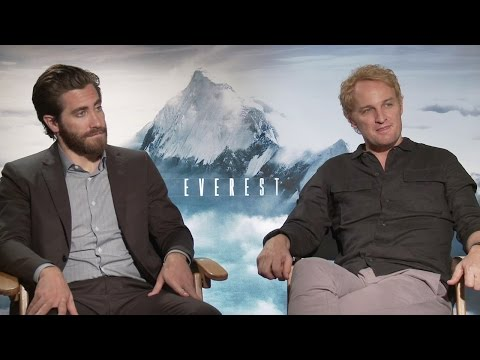 Jake Gyllenhaal & Jason Clarke - Everest Interview HD